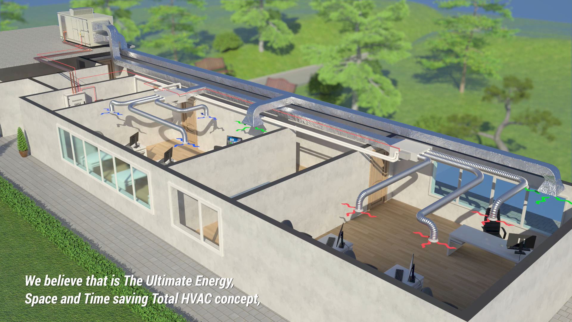 tHVAC (total Heating, Ventilation and Air-Conditioning)